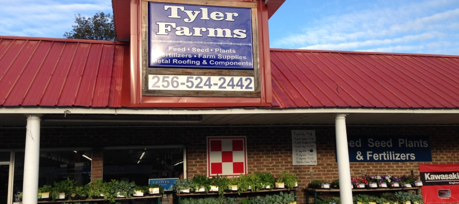 Some quality products available at Tyler Farms